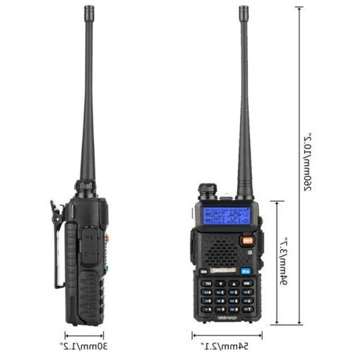 Baofeng UHF VHF Dual Band Ham Walkie Talkie