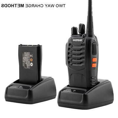 4x Baofeng 400-470MHz Two-way Radio Walkie
