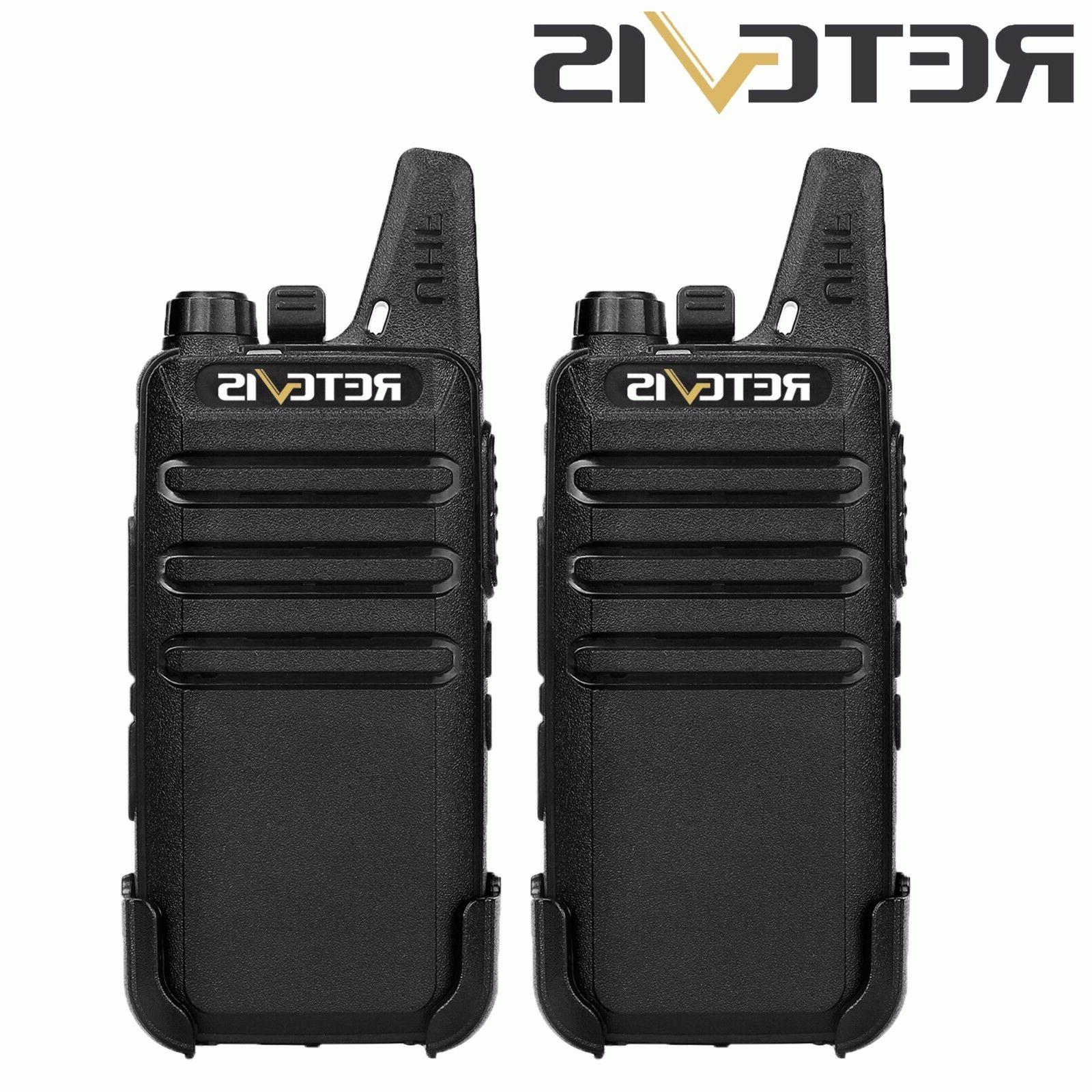 6pcs FRS RT22 Walkie Talkies DCS 16CH 2W Charger