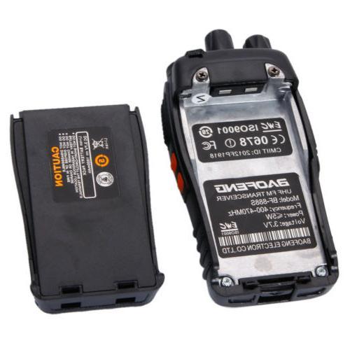 6 BF-888S Way Handheld Range GMRS