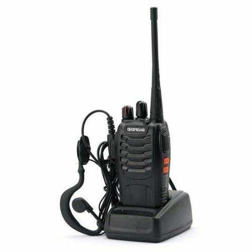 6 Talkie 2 Radio Handheld Range Marine Police