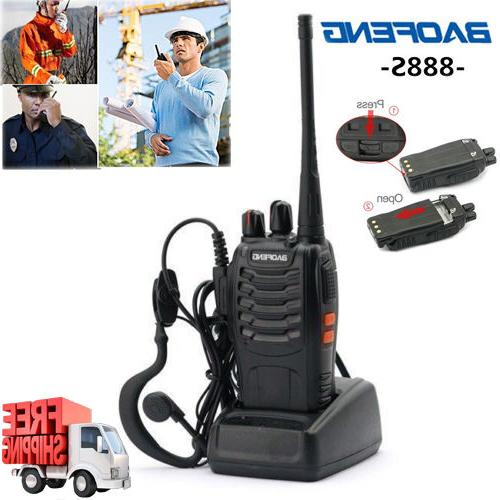 6 Pack 2 Two Handheld Long Police Frs GMRS