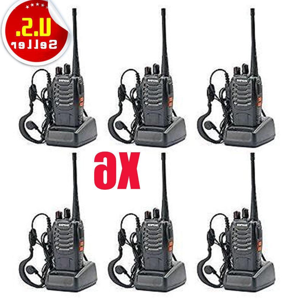 6 pack walkie talkie 2 two way