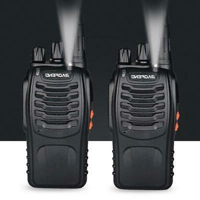 4 x Two Radio Walkie Talkie with Flashlight