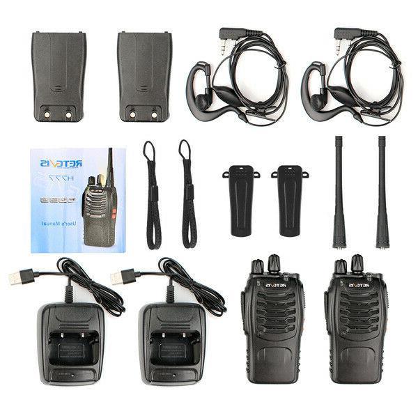 4 pack Talkies Way Radios CTCSS/DCS