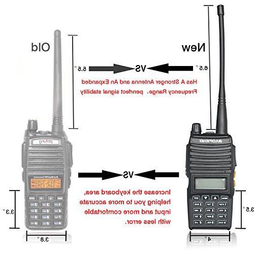 BaoFeng UV-82 Dual Band Two-Way VHF