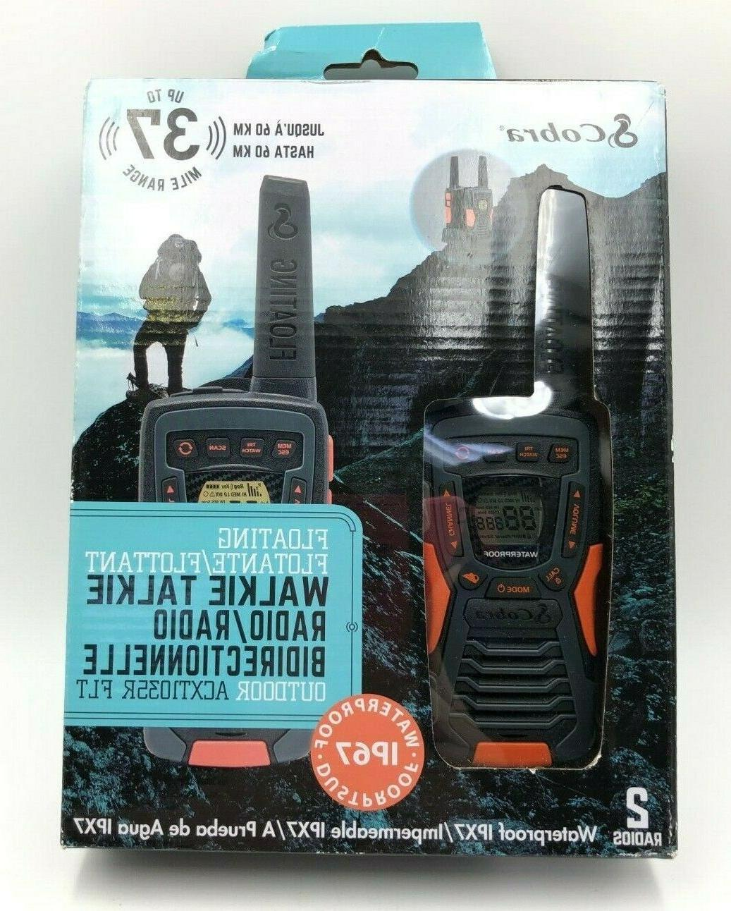 Cobra Electronics CXT 1035R FLT Floating Walkie Talkies