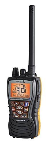 Cobra MRHH500FLTBT Floating VHF Radio with Bluetooth Wireles