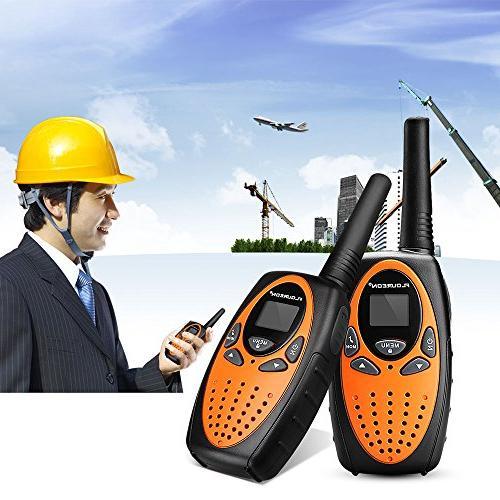 Floureon 22 2 Way Radio to 3000M/1.9MI Range UHF Handheld