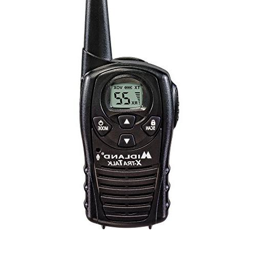 Midland FRS Talkies - 18 Mile Range Two Radio