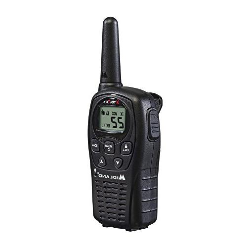 Midland LXT500VP3, Channel FRS Two-Way with Up to 24 Range Walkie Operation, Resistant