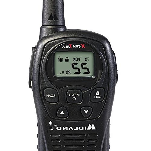 Midland LXT500VP3, Channel Radio with Channel Up Range Talkie, Operation, Resistant