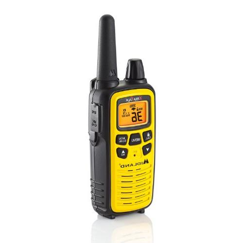Midland Channel Radio Mile Range Walkie 121 Privacy Weather + Alert
