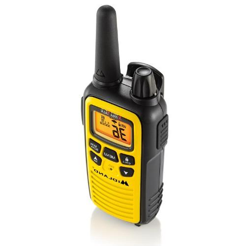 Midland - 36 Channel FRS Two-Way - to 30 Mile Talkie, 121 Privacy Weather Scan