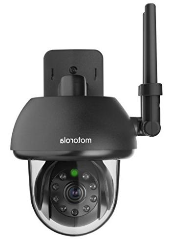 Motorola FOCUS73-B Wi-Fi HD Outdoor Home Monitoring Camera w