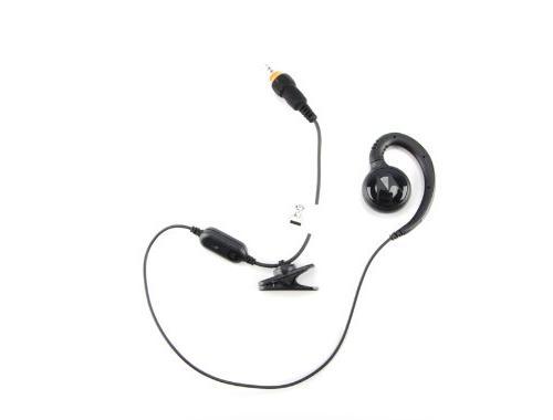 Motorola HKLN4437A CLP Single Pin Short Cord Earpiece