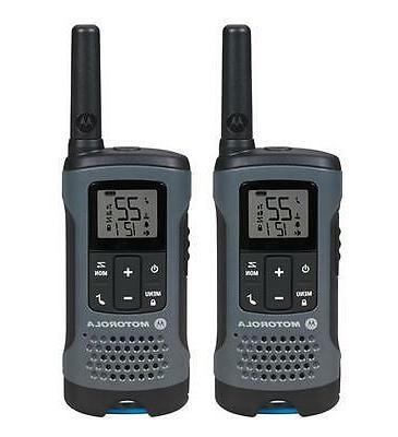 Motorola 20-mile, 22-channel - Dark Gray