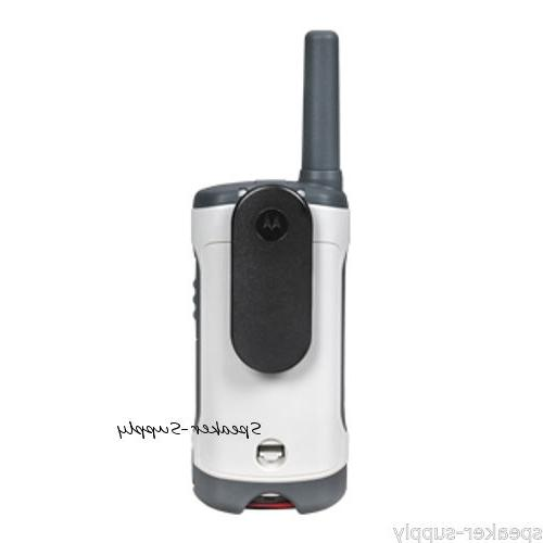 Motorola Talkabout 25-mile, 22-channel - White With Lanyard Bar