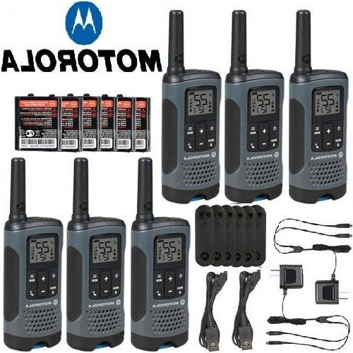 Motorola Talkabout T460 Rechargeable Two-Way Radio Pair