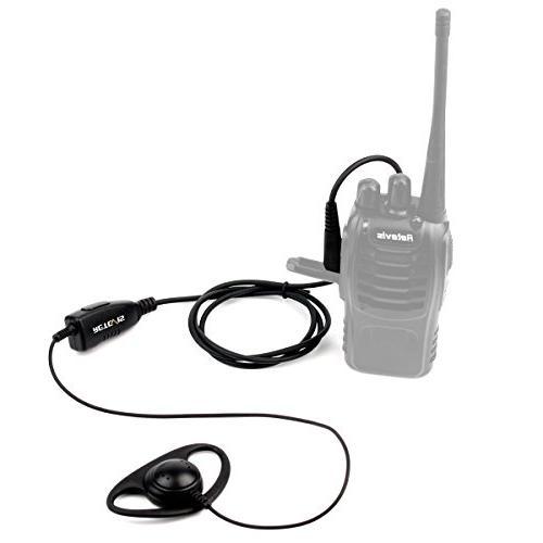 Retevis Talkies Headset UV-5R BF-888S H-777 RT22 H-777S Kenwood Radios