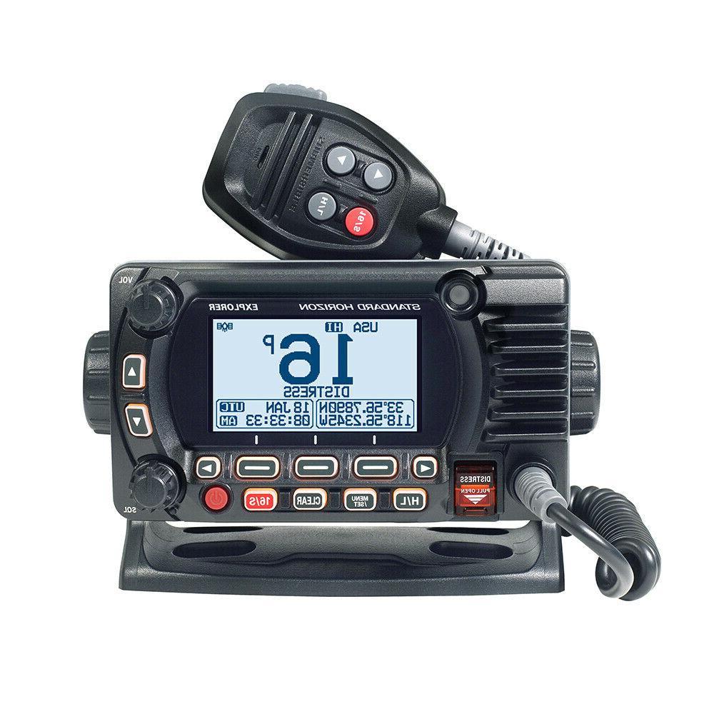 Standard Horizon GX1700B Standard Explorer GPS VHF Marine Ra