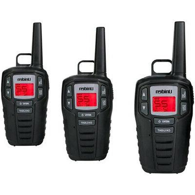 Uniden - GMRS 30-Mile, 22-Channel GMRS 2-Way Radios - Black