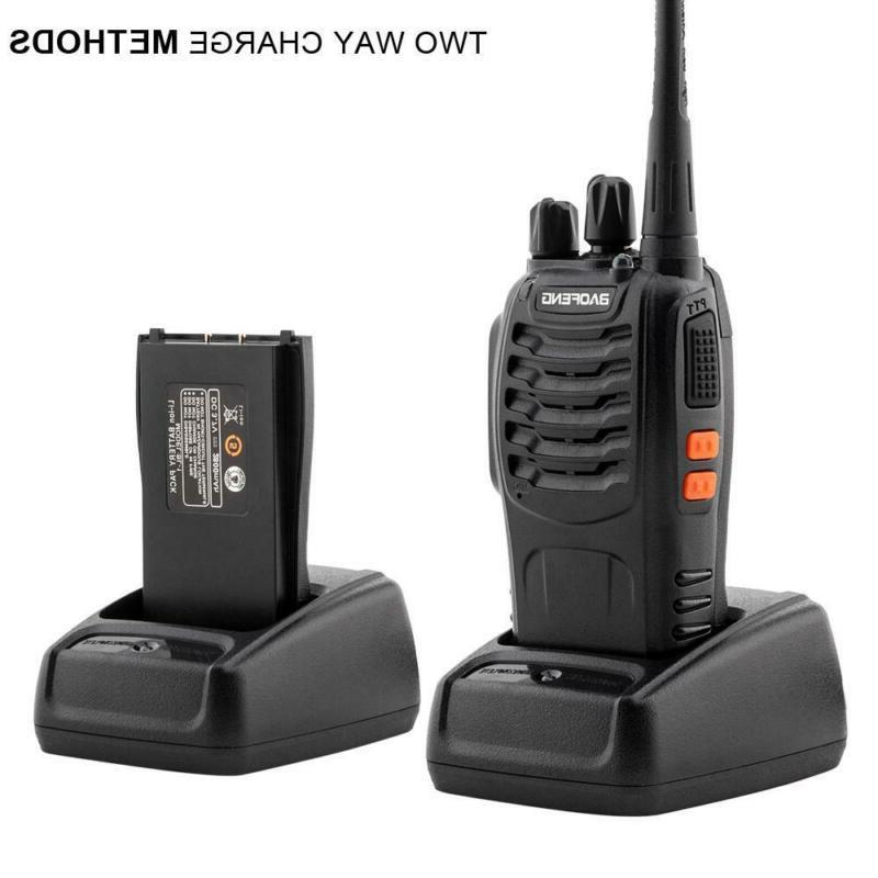 a pair of upgraded 5w handheld walkie
