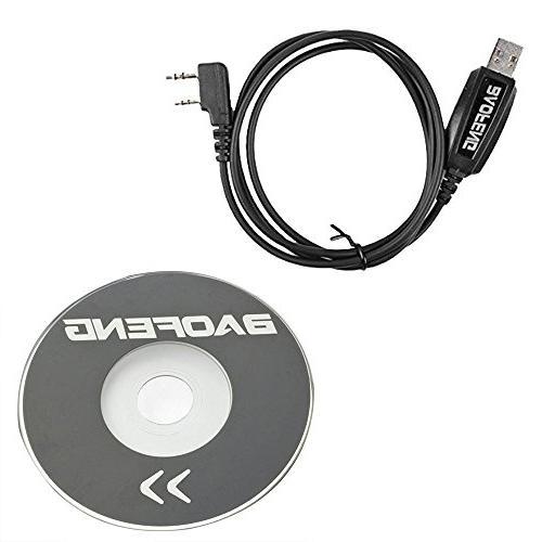 BaoFeng Talkie Dual Band Two Way Radio 1800mAh Car Charge Mic. and NA-771