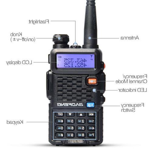 Baofeng BF-F8+ Way Radio Scanner Talkie