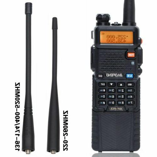 Baofeng BF-R3 VHF Tri Band Two Way Ham Radio Walkie Talkie 5