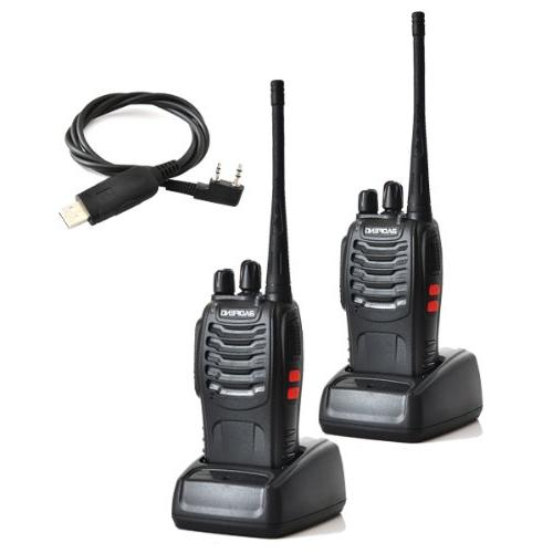 Baofeng UHF 400-470MHz 16CH CTCSS/DCS Hand Held Radio Way USB