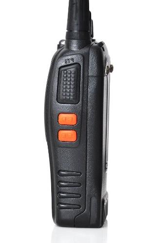 Baofeng BF-888S 400-470MHz 16CH CTCSS/DCS With Hand Held Amateur Radio Walkie Talkie 2 Way Long Range Black Pack USB