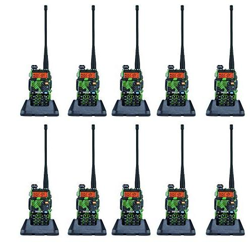 camouflage walkie talkie dual band