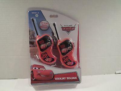 disney s pixar cars walkie talkies hand
