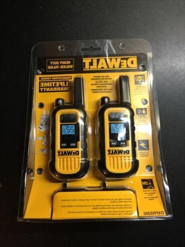 dxfrs300 heavy duty business walkie