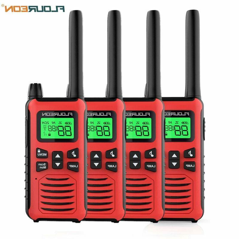 floureon walkie talkies for adults 4 pack