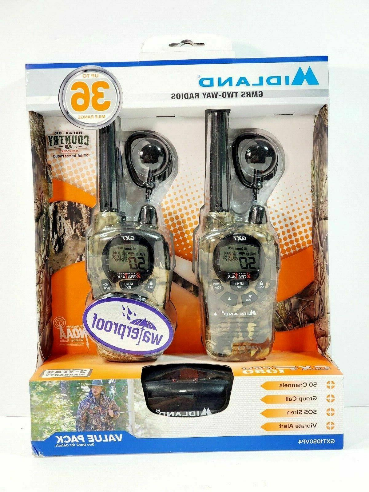 50 channel 36 mile two way radio