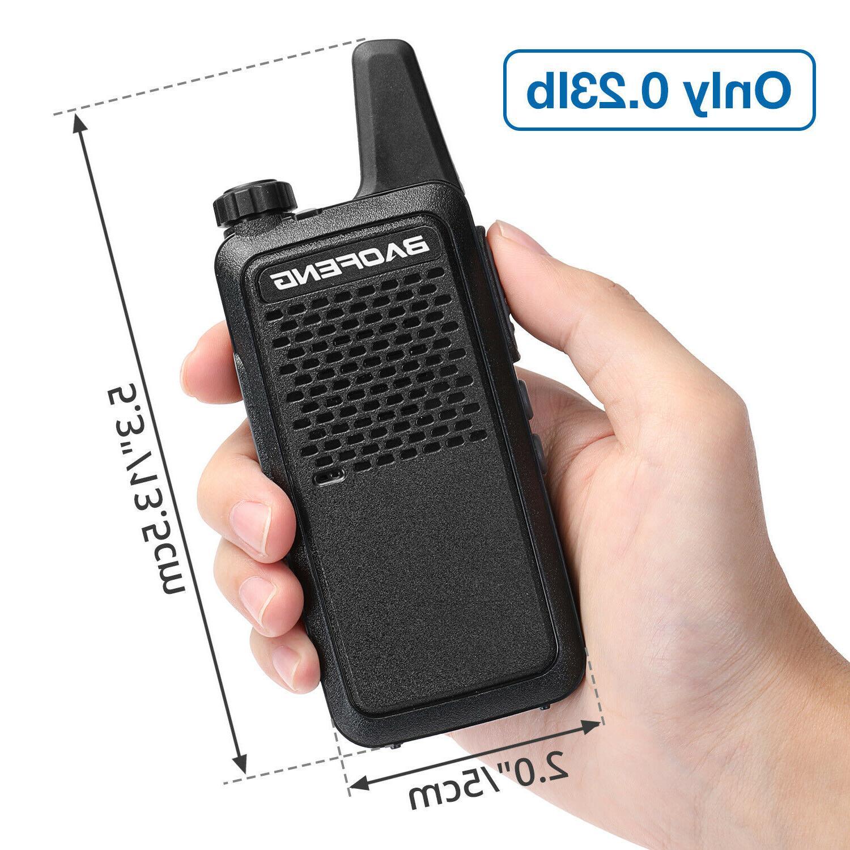 Baofeng UHF 1500mAh Mini Walkie Talkie Two-Way