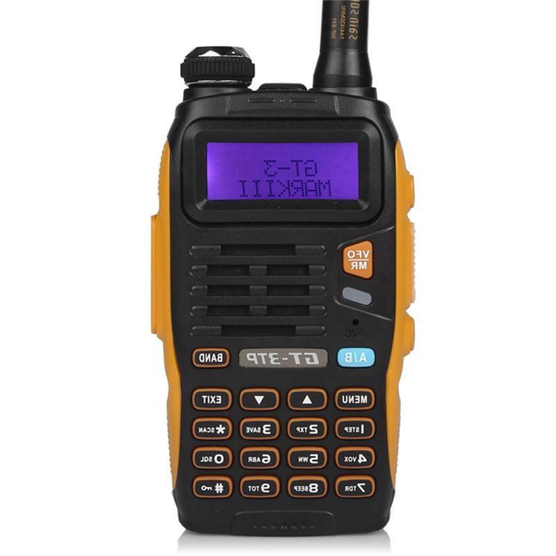 Baofeng TP 1/4/8Watt High Power Dual-Band VHF Radio <font><b>Walkie</b></font> with