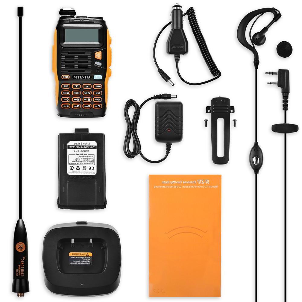 Baofeng GT-3TP 1/4/8Watt High Power VHF UHF Two-way Radio <font><b>Talkie</b></font> with