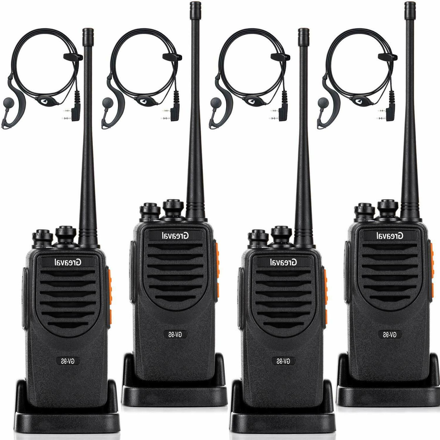 Greaval GV-9S Walkie Talkies Long Range Rechargeable 2 Way R