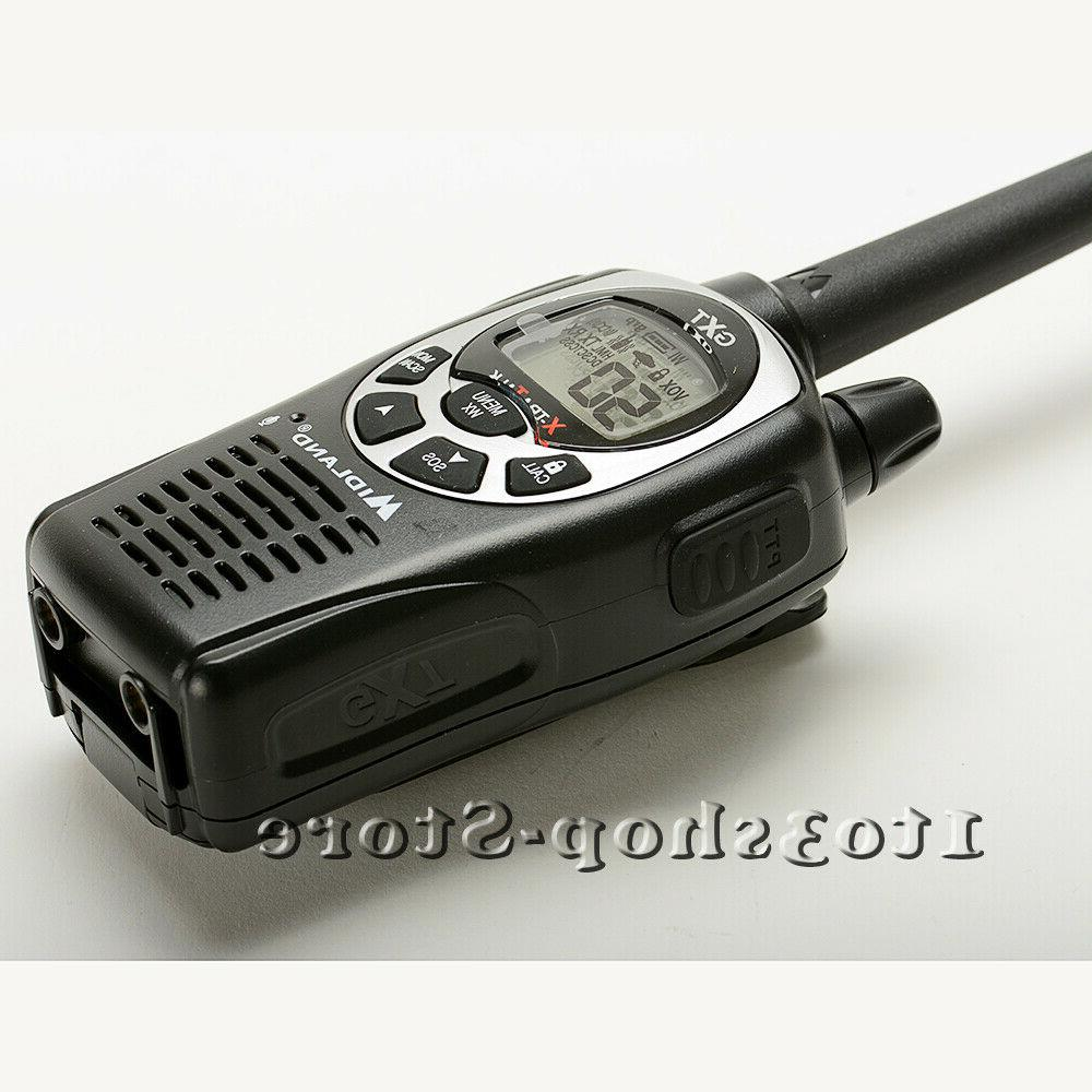 Midland GXT1000 22-Channels 2-Way Radios Walkie Talkies To