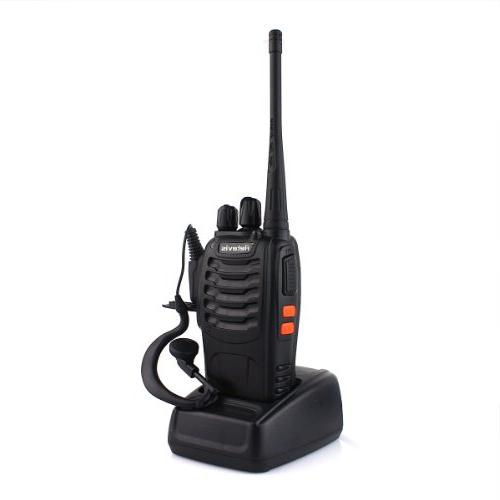 Retevis Super Quality Walkie UHF 5W CTCSS/DCS 16CH Single Band Earpiece Two Way Held Radio Pack