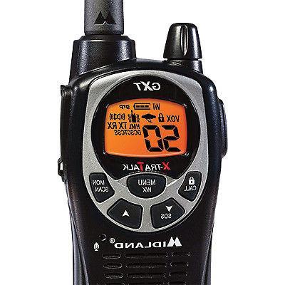 Midland Handheld Way Radio Pair Walkie Talkie- 36-Mile Range,