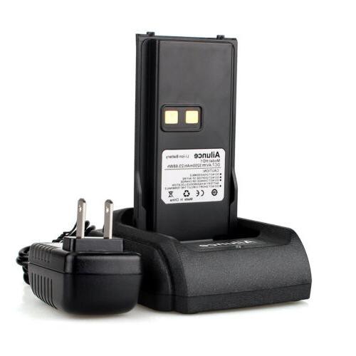 Ailunce HD1 GPS 3000CH IP67 10W Walkie Talkies+Battery+CableUS