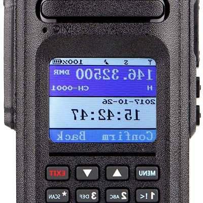 Ailunce IP67 DMR Alarm 10W Walkie