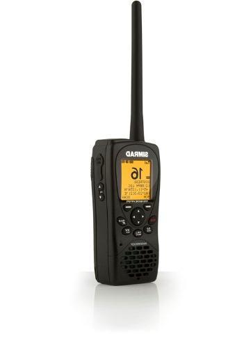 hh36 vhf handheld w built