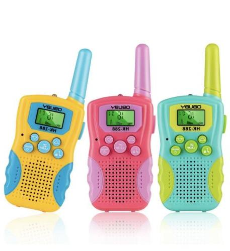 Kids Walkie Talkies 3 KMs Long Range 2 Way Radio 22 Channels