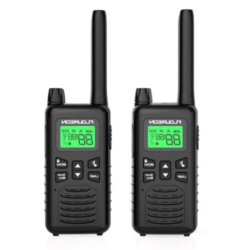 LCD 4 Pack Two Way Range GMRS