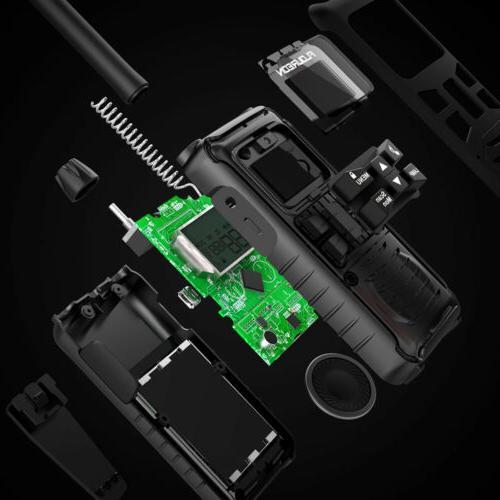 LCD Screen 22Channel 4 Pack Walkie Talkie Way Radio Range GMRS